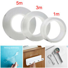 Double-Sided Magic Adhesive Tape Traceless Washable Gel Nano Invisible Reusable