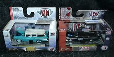 M2 MACHINES 2 DIFFERENT 1957 CHEVROLET 210 BEAUVILLE STATION WAGON R35 & WMTS03