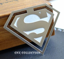 Stainless Steel Unique Superhero Superman s Bookmark Collectable Rare Gift
