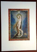 Stampa GEORGES ROUAULT Stella Vespertina Grafica Arte Ed. Seat 1988