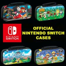 Range Of Official Nintendo Switch Cases Deluxe Branded Travel Pouch Case - New
