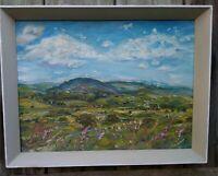 Near Askrigg, Wensleydale.OIL PAINTING, framed,Yorkshire Dales.Impressionism