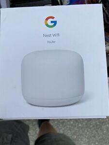 Google - Nest Wifi AC2200 Router - Snow