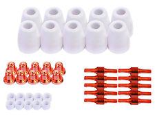 Lotos Plasma Torch Consumables 40pc set LCON40 for LT5000D CT520D LT3200 LT3500