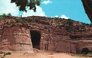 Vintage Postcard Kit Carson Cave Gallup New Mexico Camp Site Frontiersman