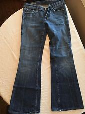 Citizens Of Humanity Women's Jeans Stretch Low waist flair Size 27 Inseam 29 EUC