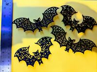 Bats Die Cuts,Card Making, 8 pieces Topper,embellishments,Scrapbook,Halloween