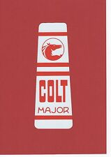 Rover  Colt Vintage Ride-On Mower Repro Decal