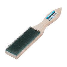 40mm file PULIZIA CARD Brush-ultra-fine FILO D'ACCIAIO - RETRO IN LEGNO