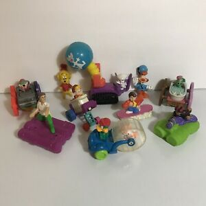 Vintage Lot 10 Kids Club Happy Meal Toys Tiny Toons Hook Bonkers Back To Future