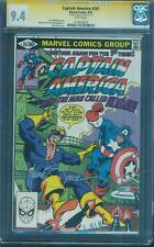 Captain America 261 CGC SS 9.4 Mike Zeck Signed 1st New Nomad 1981 McLaughlin