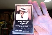Betty Wright- 4U2NJOY- new/sealed cassette tape