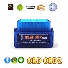 ELM 327 OBD2 DIAGNOSI AUTO INTERFACCIA OBDII BLUETOOTH V2.1 ANDROID CANBUS SC0