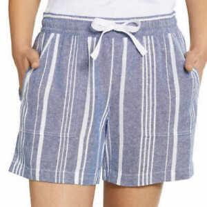Nautica Ladies' Linen Blend Pull-On Short