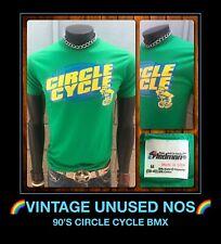 VTG 80s CIRCLE CYCLE BMX haro mongoose redline schwinn pk ripper bicycle t-shirt