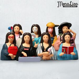 ZCWO x STRAVELING Mona Lisa Blind Box 8 Packs In Box 10cm Hot Toy New Stock