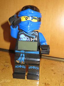 Lego Ninjago Wecker Jay, blau, sehr rar, Top Zustand
