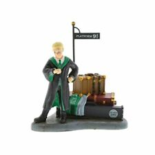 Harry Potter Draco Malfoy Waits at Platform 9 3/4 Figurine - Boxed Collectors