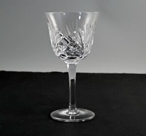 Gorham Cherrywood Crystal Water Glass Signed