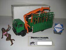 Mercedes Hegla Glass Transporter #3034.1 Conrad 1:50 Boxed