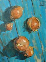 onion still life by Sergey Avdeev RUSSIAN Original oil Painting