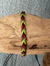 Rasta Braided Friendship Bracelet Unisex Men Women Reggae Bob Marley