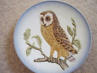 Goebel,Western Germany Porcelain plate,Barn Owl