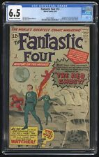 Fantastic Four #13 CGC 6.5 (Marvel 4/63) 1st appearance of the Watcher