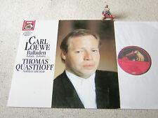 LOEWE Balladen THOMAS QUASTHOFF NORMAN SHETLER 1989 GER LP EMI HMV DIGITAL, M-