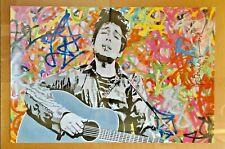 Mr. Brainwash MBW BOB DYLAN 24 x 36 Poster Print 2011 Pop Art Music Obey