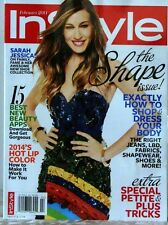 IN STYLE Magazine SHAPE ISSUE How to SHOP & DRESS Your BODY Petite & PLUS TRICKS