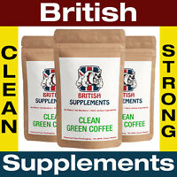 Clean Green Coffee Bean Extract High Strength Capsules 5,688mg 3 Month Supply