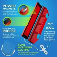 Magnetic Window Cleaner for Glazed Windows Glass Wiper Clean 2-8mm