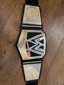 Official WWE 2012 Champion Kids Wrestling Belt By Mattel & Fastener