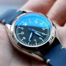 [Seiko Mod Part - Sapphire] 30mm   Double Domed & Sided Blue AR   SNK809 SNKL23