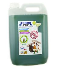 Fresh Pet Kennel Cleaner Cocktail Set - Prefilled 5L - Mojito