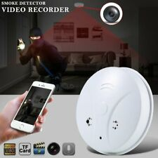 1080P HD Wireless Wifi Hidden Spy Camera Smoke Detector Cam Security Camera