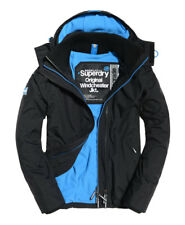 Superdry Windcheater Pop Zip Hooded Arctic Jacket Mens Boys Size S Coat