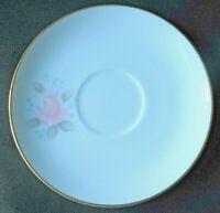 Noritake Roseville Set TWO Saucers Roseville Pattern 6238 Roses Made Japan MINT!