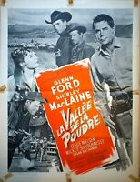 Plakat Kino La Vallee De La Powder Glenn Ford Shirley Maclaine - 60 X 80 CM