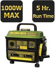 Generator 1,000-Watt 2-Stroke Gasoline Powered Portable With Brushless Motor