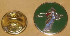 new design duck lapel badge round a