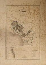 COMPARTIMENTO PISANO FRAZIONI DISTACCATE PONTREMOLI Carta Geografica 1800