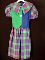 RARE DEADSTOCK 1950'S GIRLS COTTON DRESS SIZE 9-10