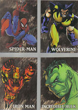 MARVEL CREATORS COLLECTION 98 SET OF FOUR GOLD CARDS