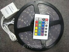 10X 5M SMD 5050 RGB Waterproof 150 LED Strip +IR Remote