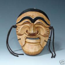 Holzschnitzereien Holz Maske Koreanisch Tradition Neu