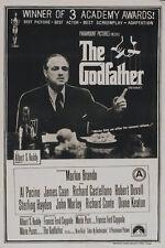 The Godfather (1972) Marlon Brando movie poster print 3