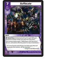 Kaijudo X3 SUFFOCATE Rare #40/110 7CLA (Playset) Clash of the DUEL MASTERS 2013