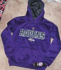NEW NFL Baltimore Ravens Hooded Sweatshirt Hoodie S Small 8 NEW NWT